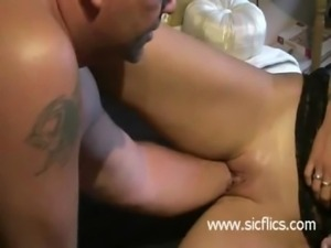 Extreme housewife fist fucked i ... free