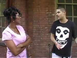 Big Boobs Chubby Ebony Milf Has Sex With Young Man