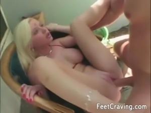 Hot girls in amazing foot fetis ... free