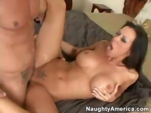 Rachel Starr Loves His Cum