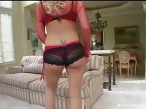 Hot Blonde Lacie Heart