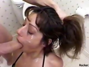 Mia Domore - Rough Bathroom BJ