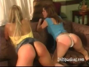 Teen girls  Spanked 2 free
