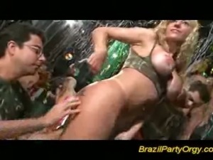 Steamy brazilian sex party that is fuckingly wild