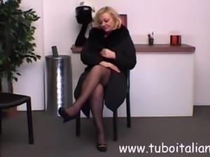 Italian Mature Blonde Sexy Bionda Matura