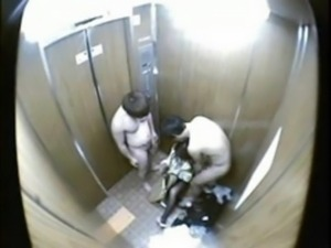 Molested in a stuck elevator free