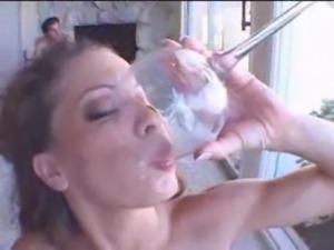 Nasty wild Vanessa Lane in a ga ... free