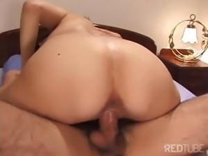 My wet pussy lips flowed with juices as I engulfed his cock