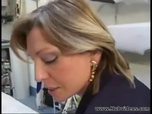 Mature boss and her employee 00 free