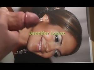 Cum on Jennifer Lopez