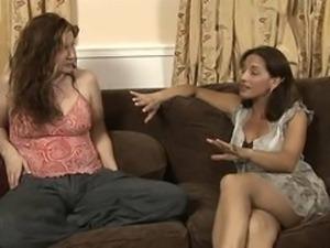 lesbian babysitter scene 4  Melissa monet and Sinn Sage