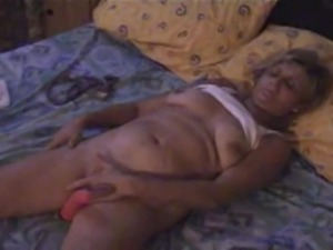 Open minded widow granny from Belgium. Alone at home. Playing with my tits...