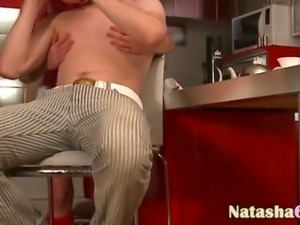 luxury butt fucking in kitchen