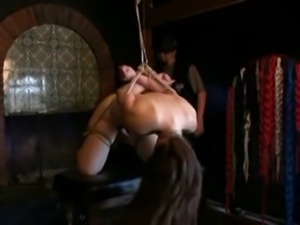 Slave whore used as a sextoy