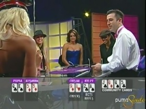 Puma Swede in a poker game.