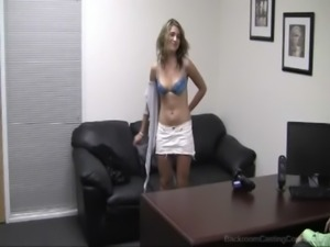 blonde girl fuck for a job free