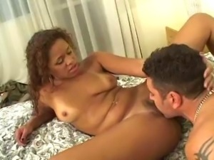 Latin girl gets all her holes used.