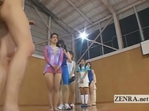 CFNM group of Japan athletes li ... free