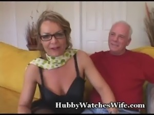 Older Babe Watched By Hubby free