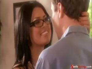 MILF Eva Angelina and handyman free