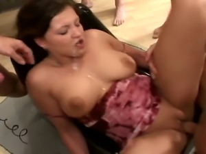 One hard cock is pure pleasure... but this is not for her... The more ... the...
