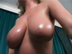 Veronika Pagacova - Oiled Boobs ... free