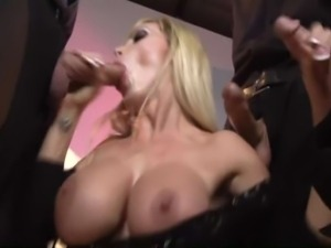 Super Milf Nikki Benz  Blowbang