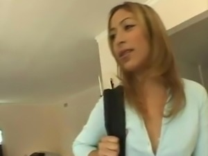 Latina Schoolgirl Ass To Mouth Gangbang