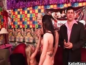 Big tit blonde pornstar Katie Kox