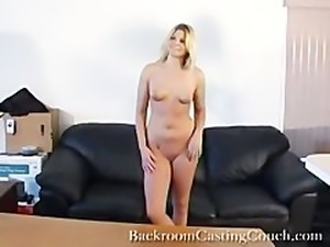 blonde law student casting couch