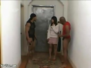 Japanese Chick Goes Black -