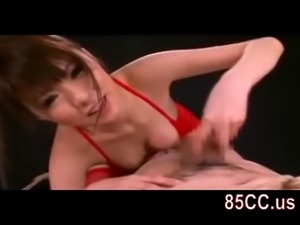 horny bondaged sex by bikini girl 02