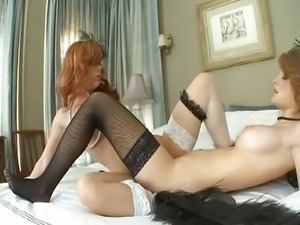 Dani Jensen & Faye Reagan - pussy action pt1