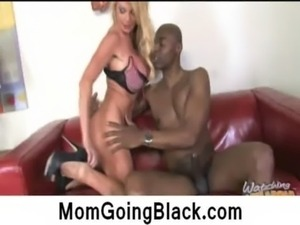 Big Tits Blonde Mom Gets Monster 3 free