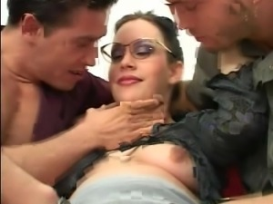 Pregnant gangbang with men