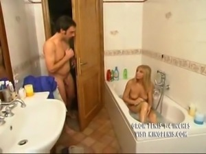 Blonde Italian Mother Plays wit ... free