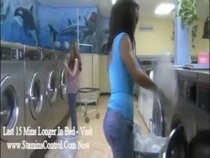 Laundry day lesbians free