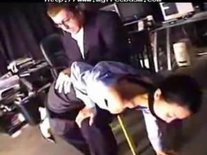 Boss Dominates His Employee bdsm bondage slave femdom domination