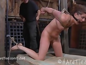 CiCi Rhodes Tied and Violated