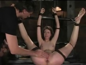 Tied And Sodomized bdsm bondage slave femdom domination