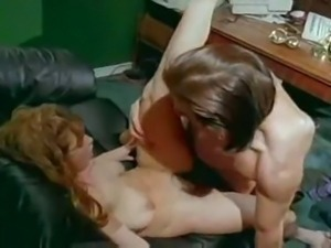 Christy Canyon fucking her boss in the office!