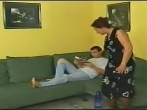 HORNY GERMAN MOM FACIALIZED BY GUY - ROLEPLAY - JB$R