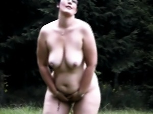 Curvaceous In The Woods