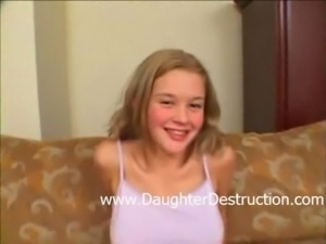 Daddys little daughter fucked hard free