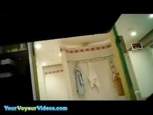 Public sauna Voyeur free