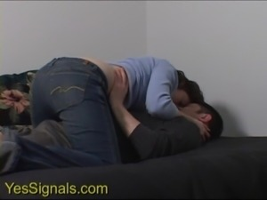 YesSIgnals - Condom breaks on a cute brunette on a wild blind date free