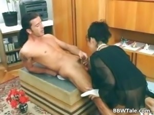 Fat hairy slut taking her friends dick part5