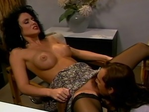 Hot blond Latina girl lusciously enjoys her sexmeal, licking and sucking that...