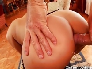 Anal Asian surprise with Sharon Lee