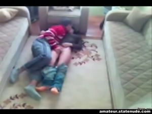 Teens Wrestle and fuck free
